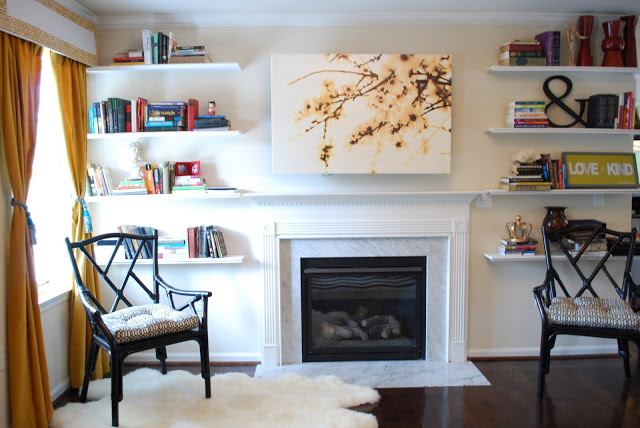 5 tips for decorating around a television for Hiding a tv in the living room