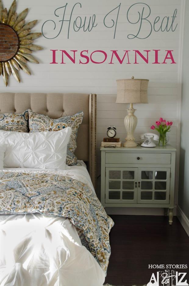 how i beat insomnia