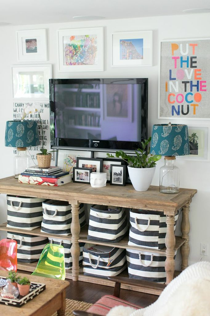 Tv Wall Decor Ideas 5 tips for decorating around a television - home stories a to z