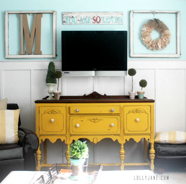 5 tips for decorating around a television home stories a for Home decor advice