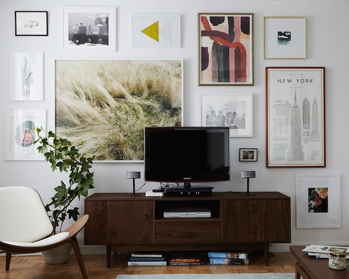 5 Tips For Decorating Around A Television Home Stories A