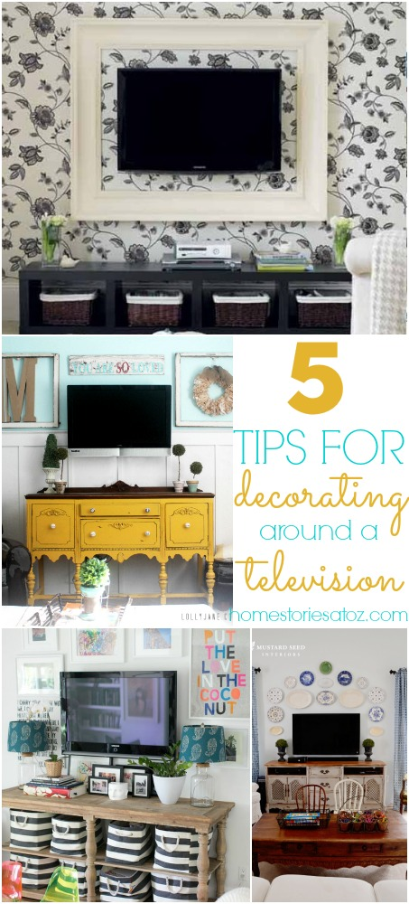 tips for decorating around a television.jpg