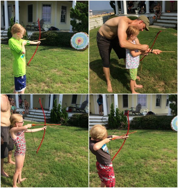 Archery birthday party