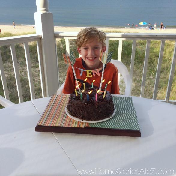 archery party for 10th boy birthday