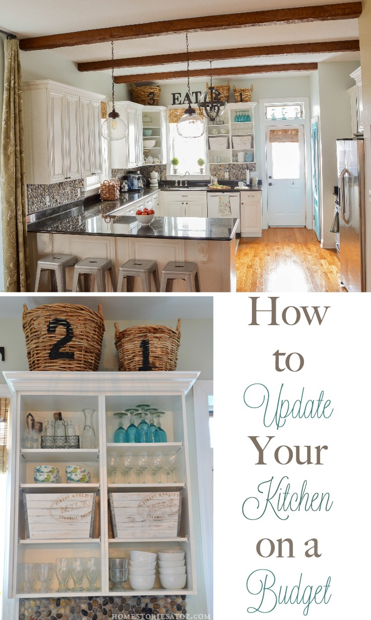 How to update your kitchen on a budget home stories a to z for Update my kitchen on a budget