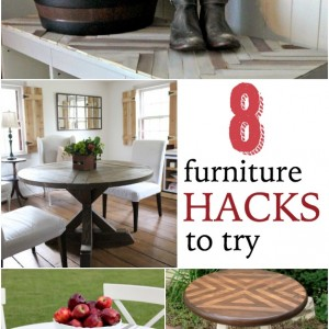 8 furniture hacks to try