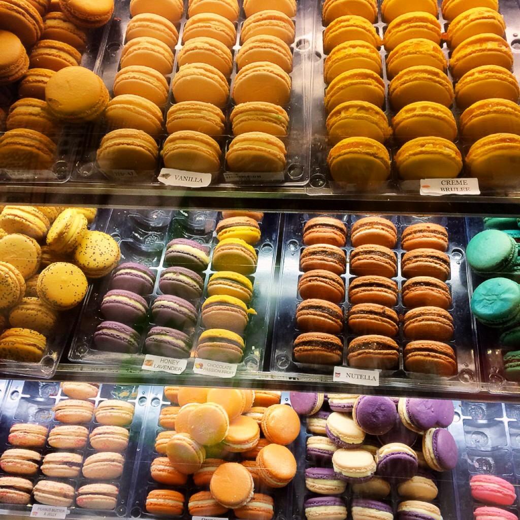 macarons at Macaron Cafe