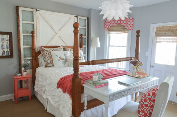How To Make A Barn Door Headboard