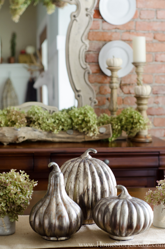 Fall home tour fall decorating ideas home stories a to z - How to decorate my home ...