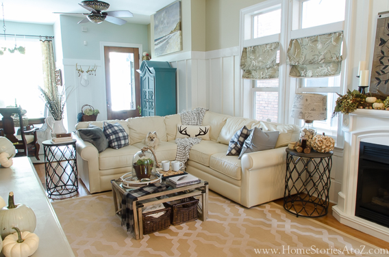 Fall Home Tour Decorating Ideas Stories A To Z