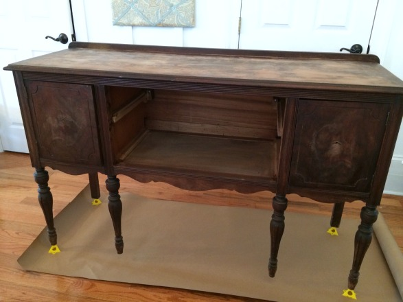 how to paint furniture rh homestoriesatoz com vintage buffet table ideas vintage buffet table and sideboards