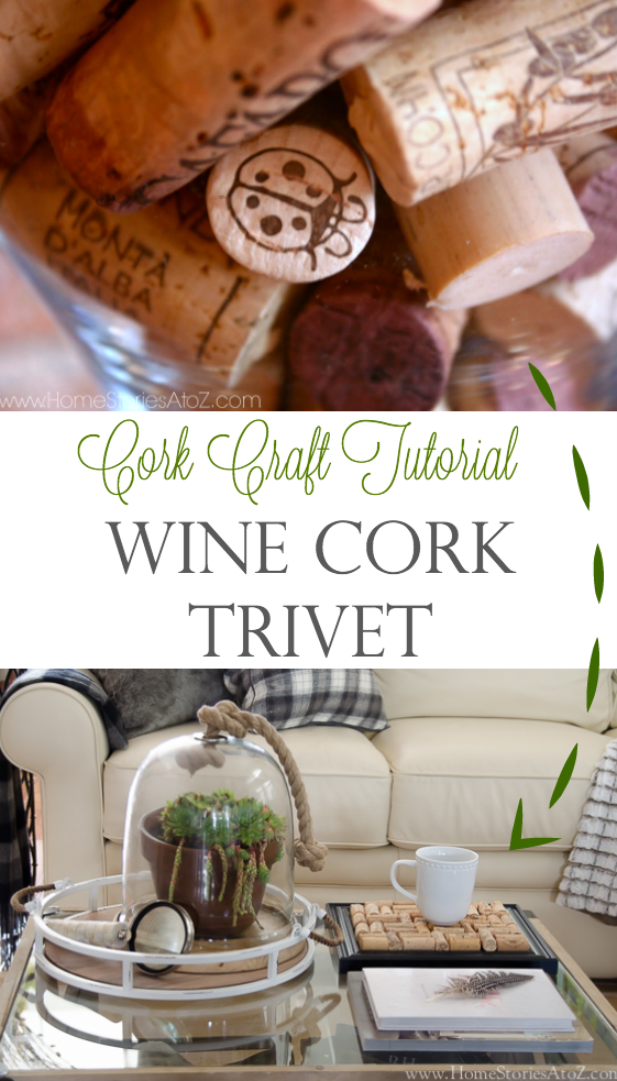cork craft tutorial wine cork trivet