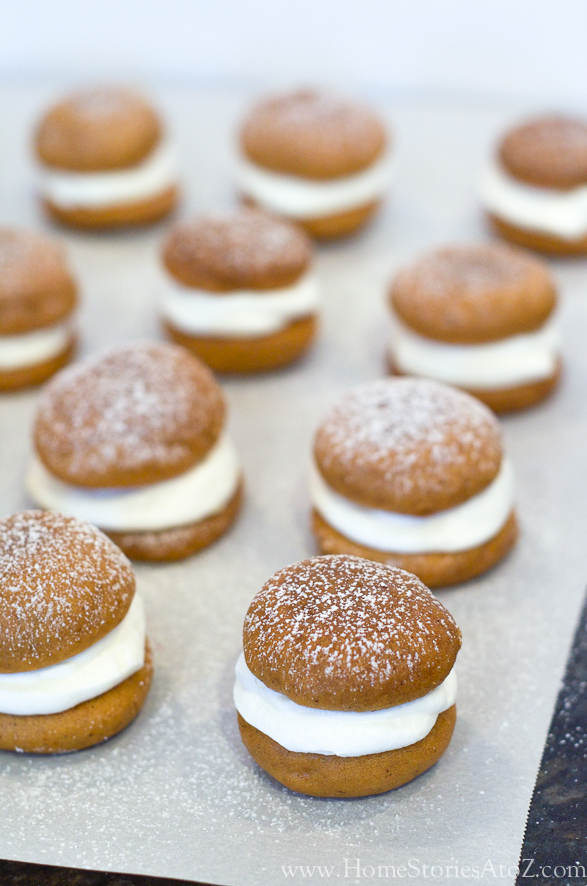 Pumpkin Whoopie Pies - Home Stories A to Z