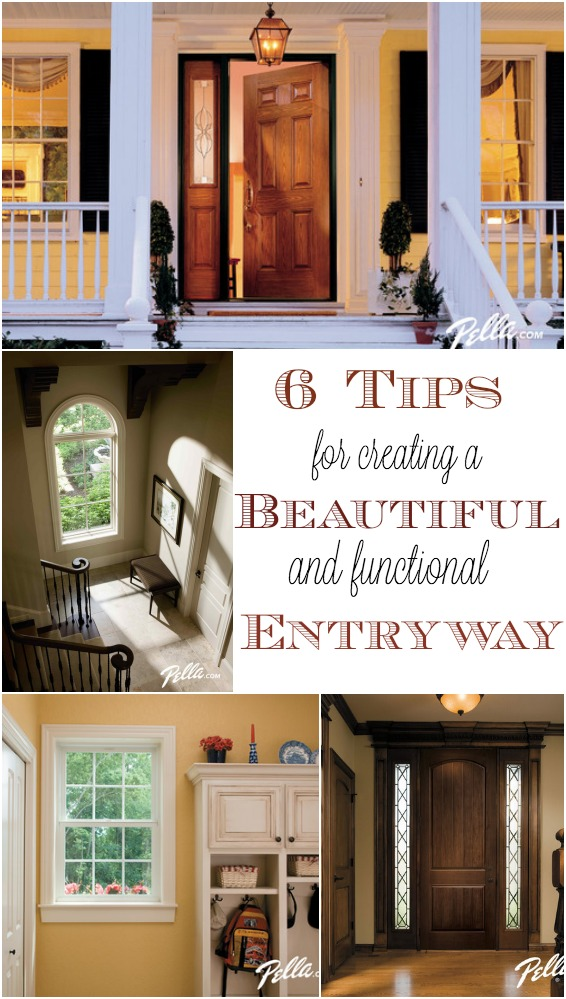 6 decorating tips for creating a beautiful and functional entryway