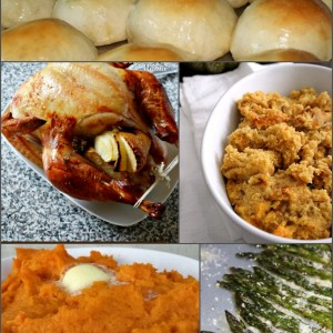 Thanksgiving menu recipes