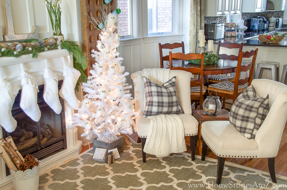 Cozy neutral christmas