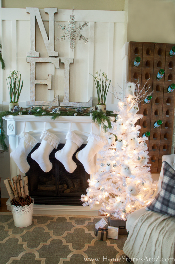 noel christmas mantel - Decorating Your Mantel For Christmas