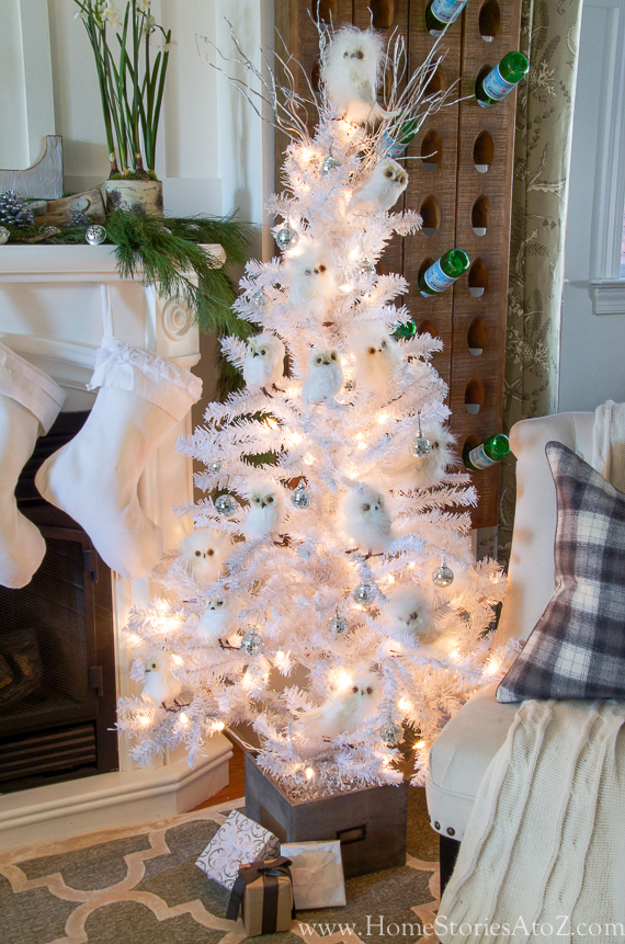 Christmas Home Tour {Part 1} - Home Stories A to Z