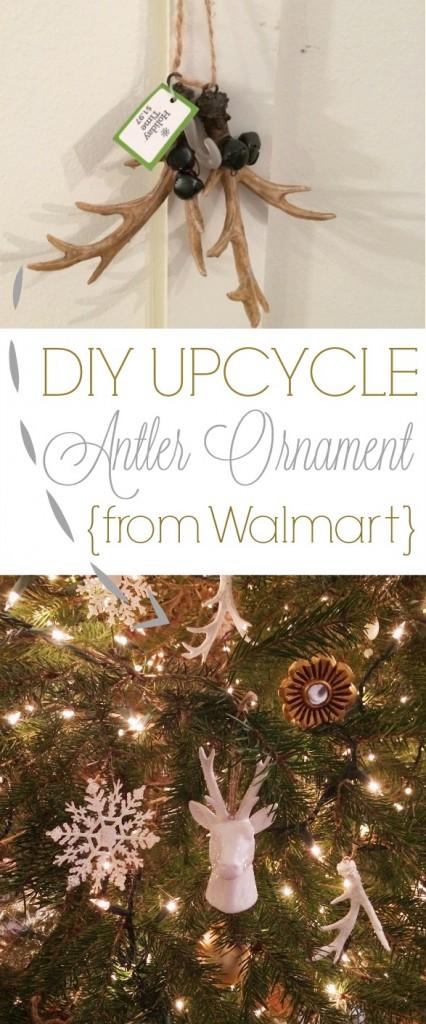diy antler ornament