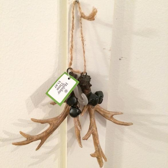 walmart antler ornament