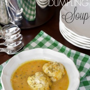 Chicken Dumpling Soup Recipe