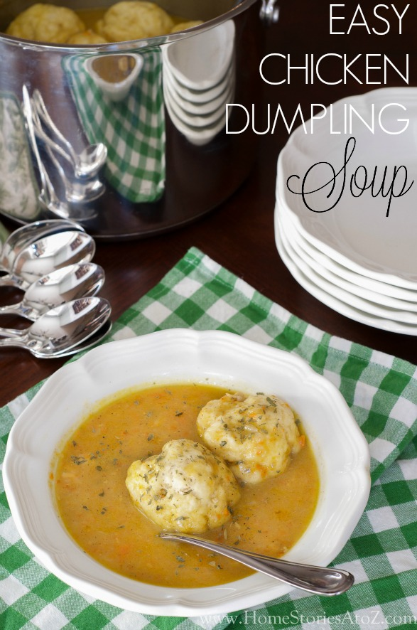 Chicken Dumpling Soup Recipe