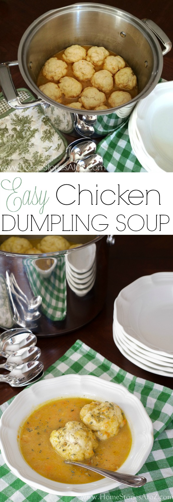 Easy Chicken Dumpling Soup