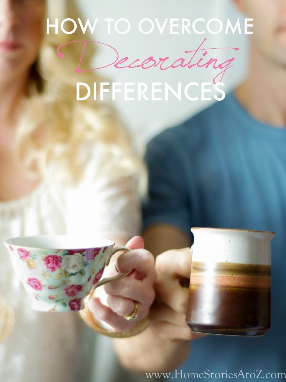 How to overcome decorating differences