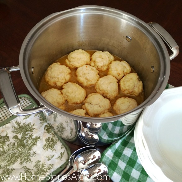 chicken and dumpling soup recipe