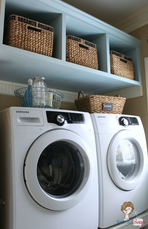 Build Your Own Washer Dryer Laundry Pedestal With