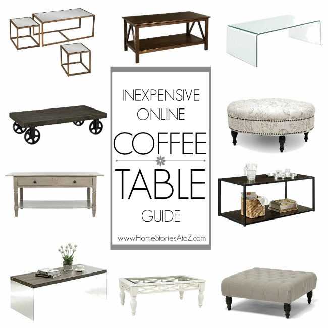 inexpensive coffee table buying guide home stories a to z