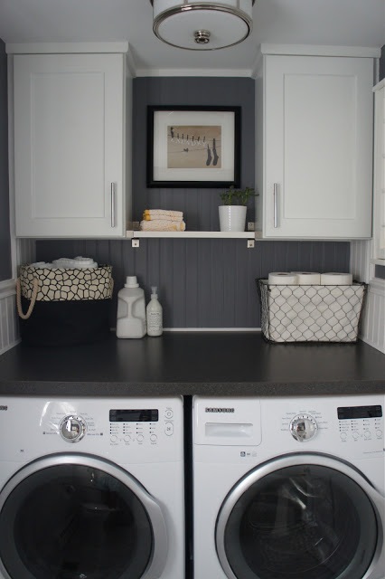 25 small laundry room ideas home stories a to z - Small space washing machines set ...