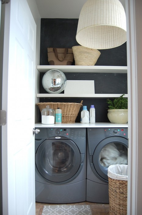 Charming Closet Laundry Room