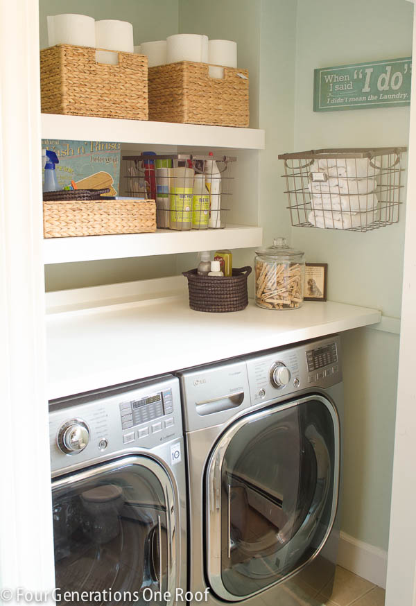 Cute Laundry Rooms 25 Small Laundry Room Ideas  Home Stories A To Z