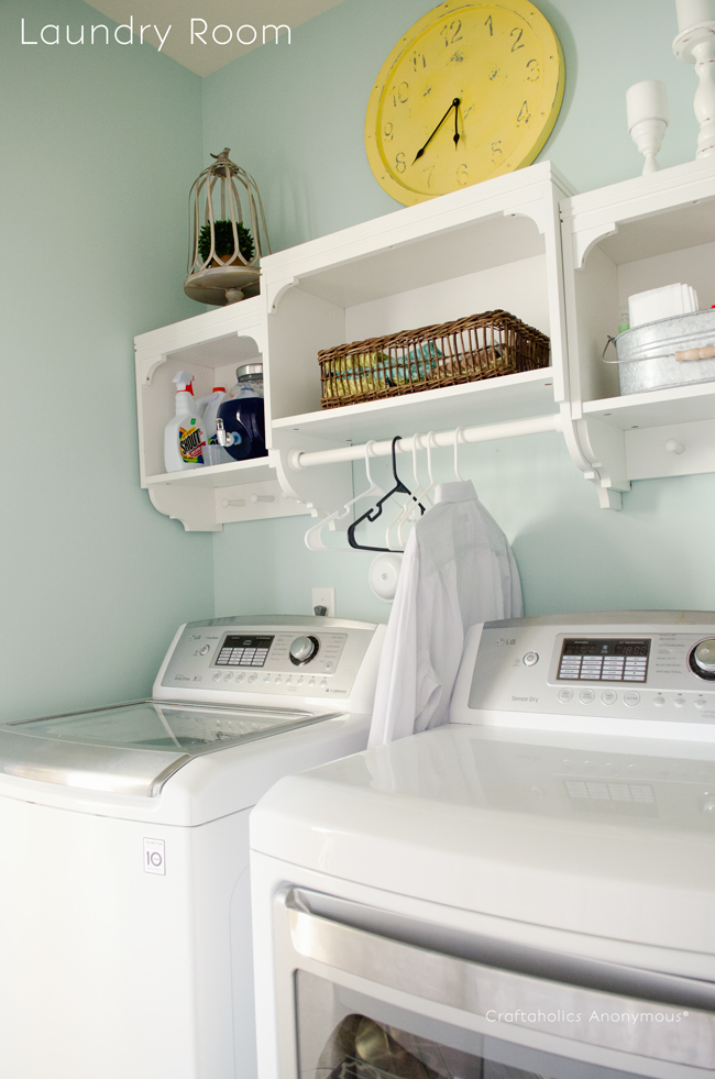 25 small laundry room ideas home stories a to z - Best colors for a laundry room ...