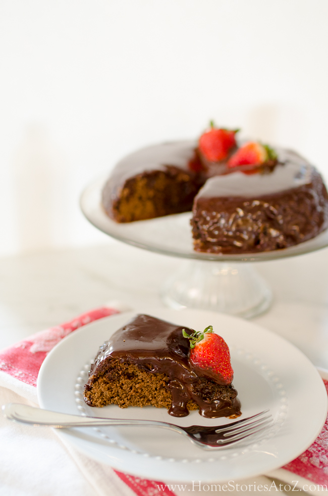 10 minute chocolate cake-6
