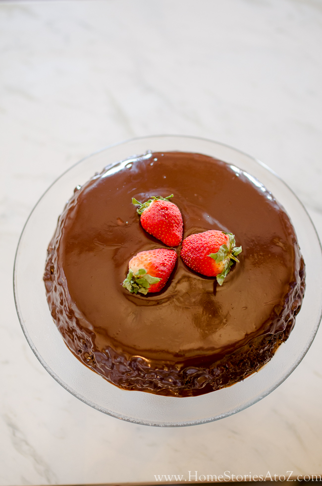 10 minute chocolate cake