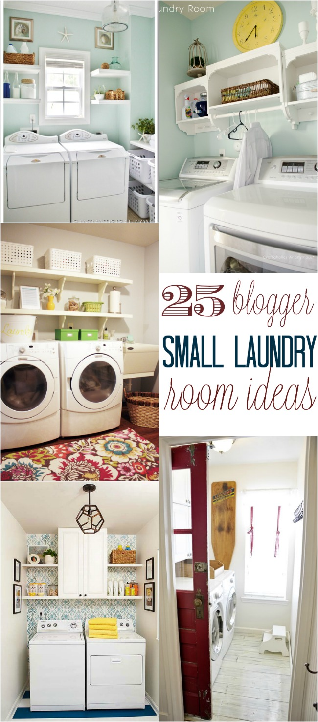 25 small laundry room ideas home stories a to z for Laundry home
