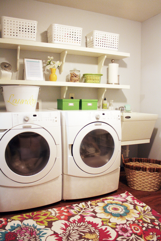 Laundry Room organized