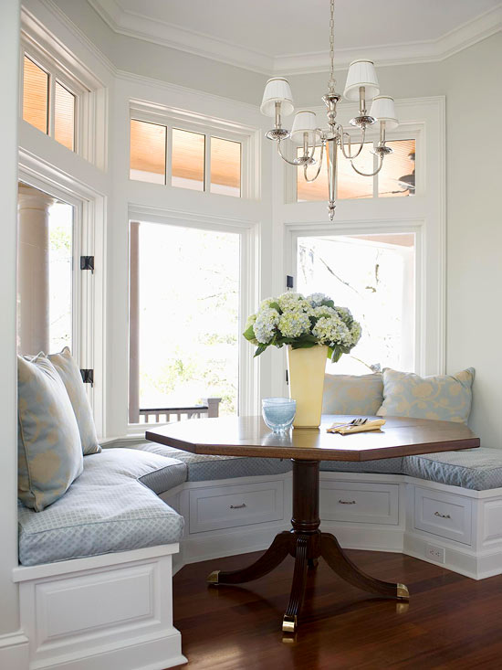built in window seat idea