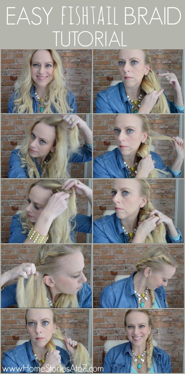 fishtail braid tutorial