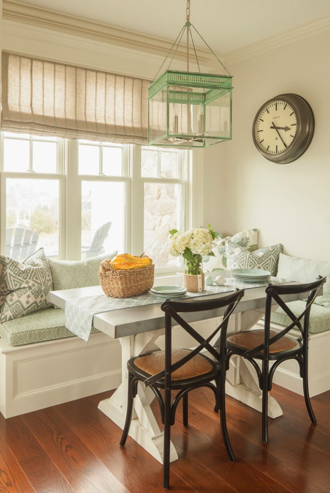 Traditional Kitchen by Santa Cruz Media & Bloggers Shannon Malone. kitchen  window seat