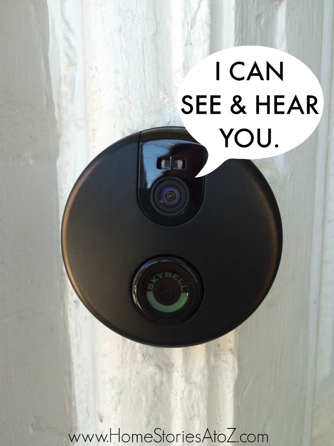 skybell & Skybell Doorbell: Answer Your Door with a Smartphone - Home Stories ...