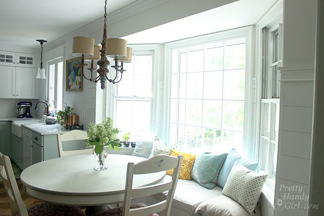 ... Decorating Kitchen Bay Window Decorating Ideas : 25 Kitchen Window Seat  Ideas   Home Stories A ...