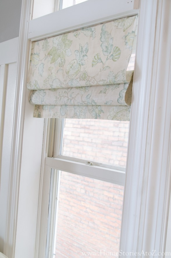 How to make faux roman shades for Curtains that look like roman shades