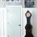 DIY Herringbone Door Tutorial