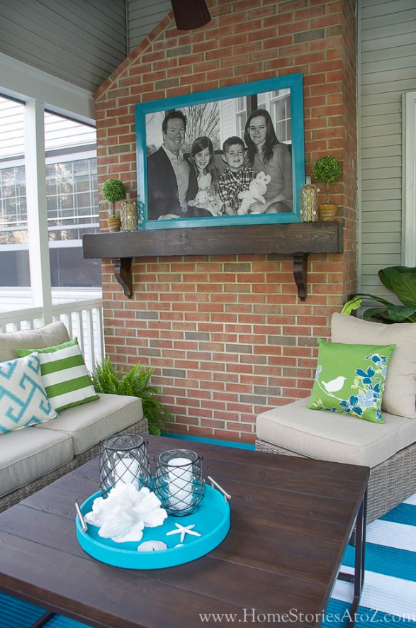 Lowe\'s Screen Porch and Deck Makeover Reveal