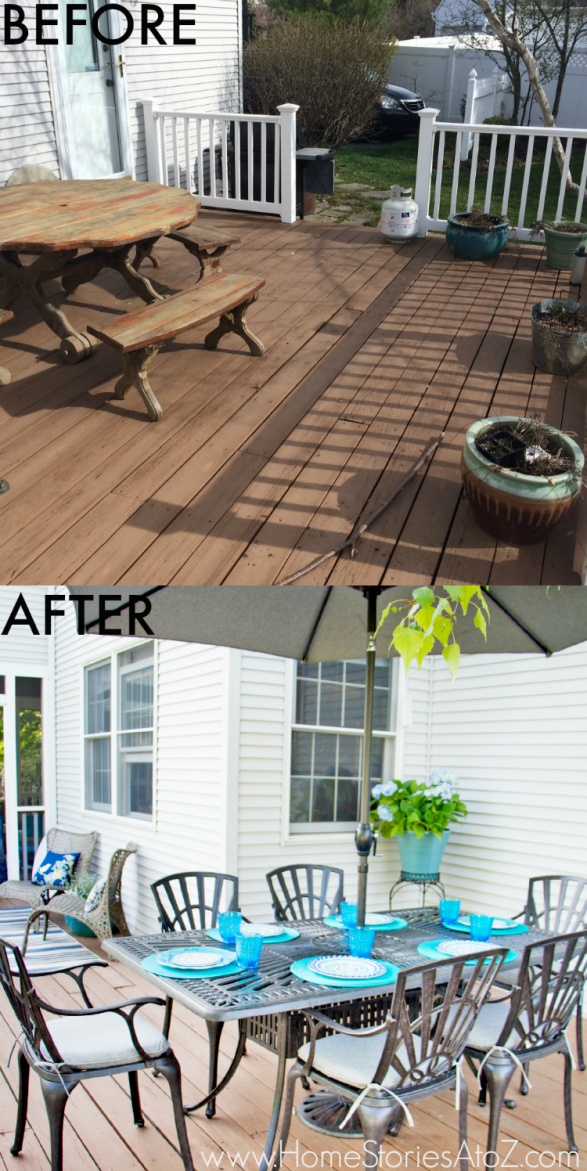 Lowe S Screen Porch Amp Deck Makeover Reveal