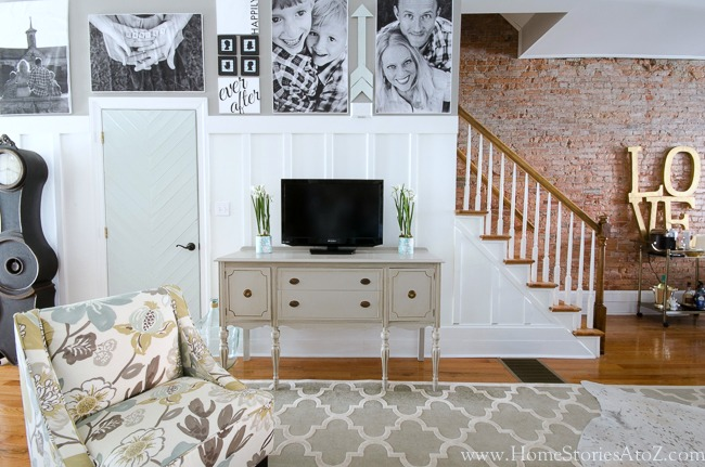 7 Inspiring Kid Room Color Options For Your Little Ones: Dorian Gray Family Room Reveal With Gallery Wall