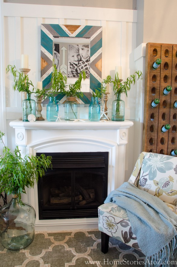Refresh Your Mantel for Summer